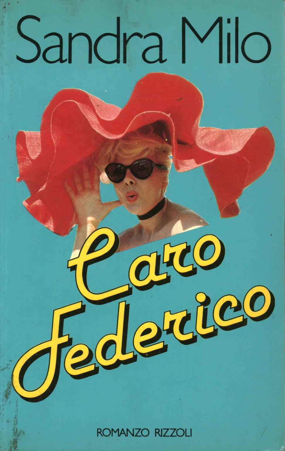 Fig. 2 Copertina del libro di Sandra Milo, Caro Federico, Milano, Rizzoli, 1982
