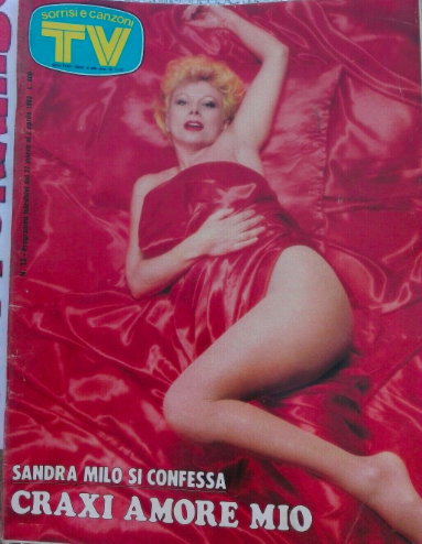 Fig. 7 Copertina di TV Sorrisi e Canzoni, marzo 1983