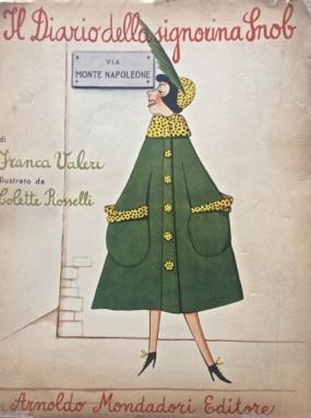 Fig. 2 Il diario della Signorina Snob, copertina dell'edizione del 1951