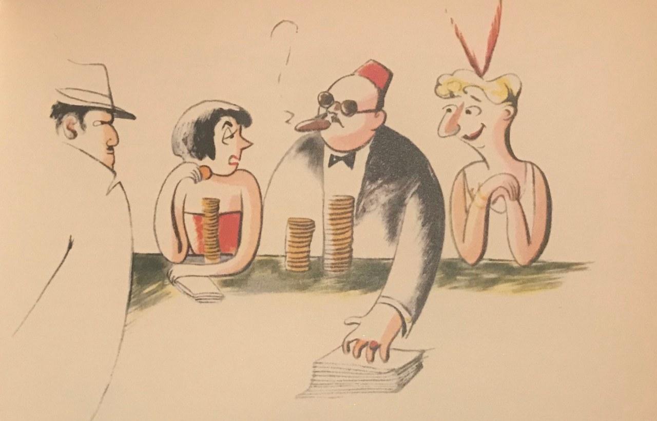 Fig. 3 Il diario della Signorina Snob, illustrazione di Colette Rosselli