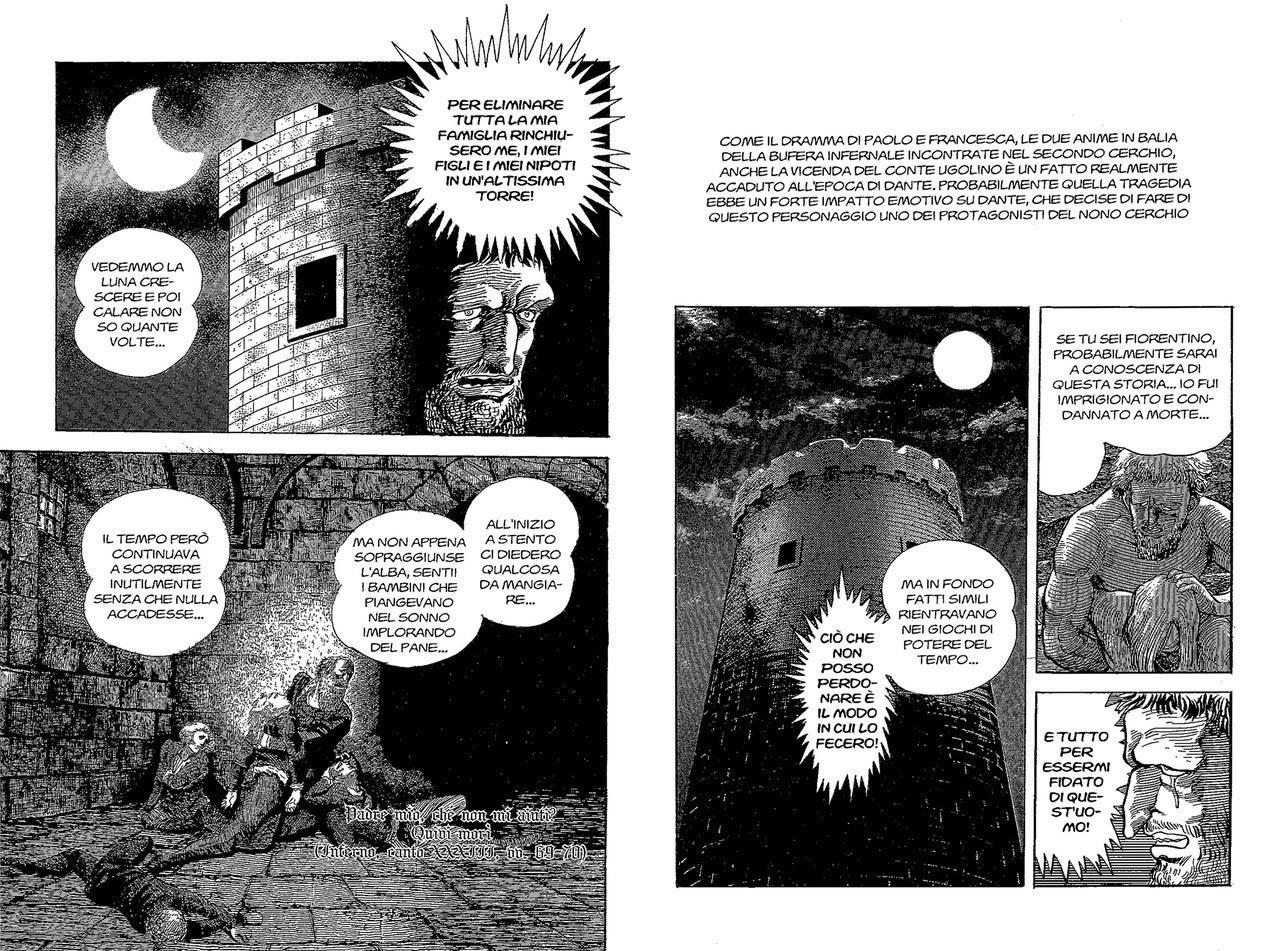 Go Nagai, La vicenda del Conte Ugolino, 1994, vol. 2
