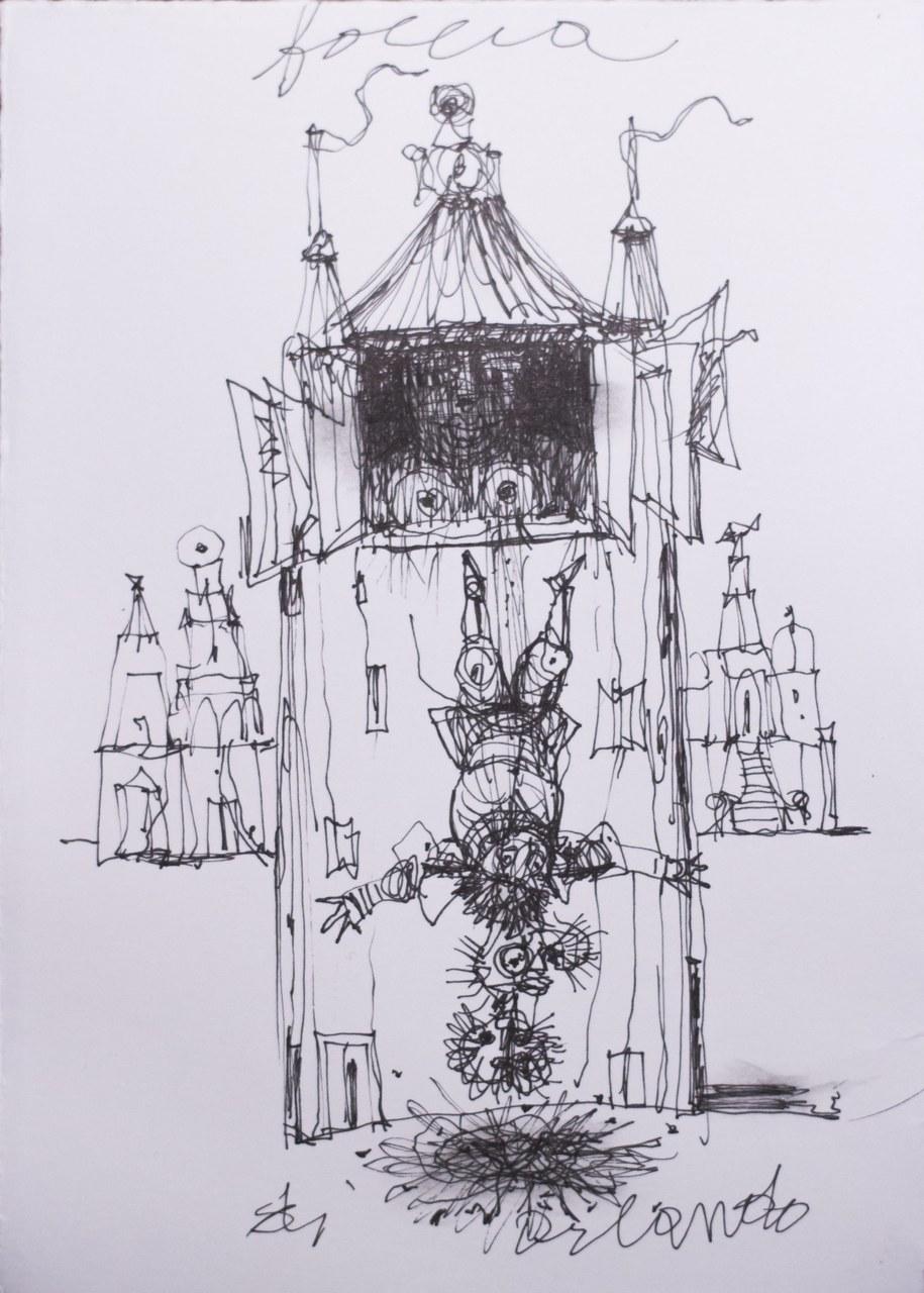 , Antonio Possenti, Follia di Orlando, 2016, collezione privata