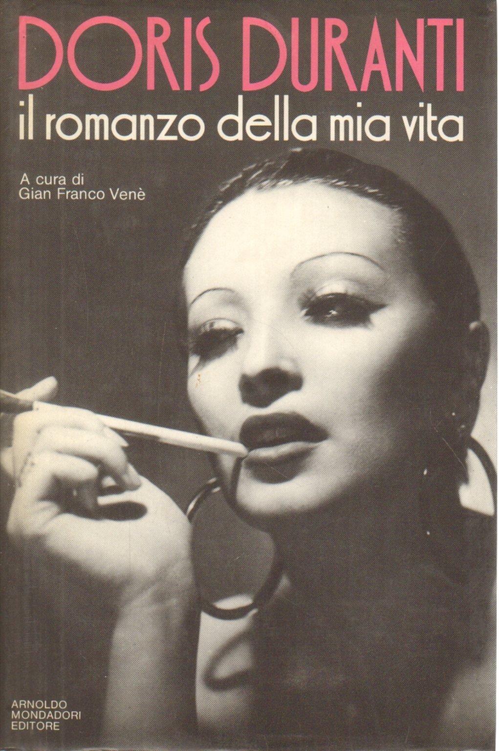 Fig. 2 Copertina dell'autobiografia di Doris Duranti Il romanzo della mia vita (1985)