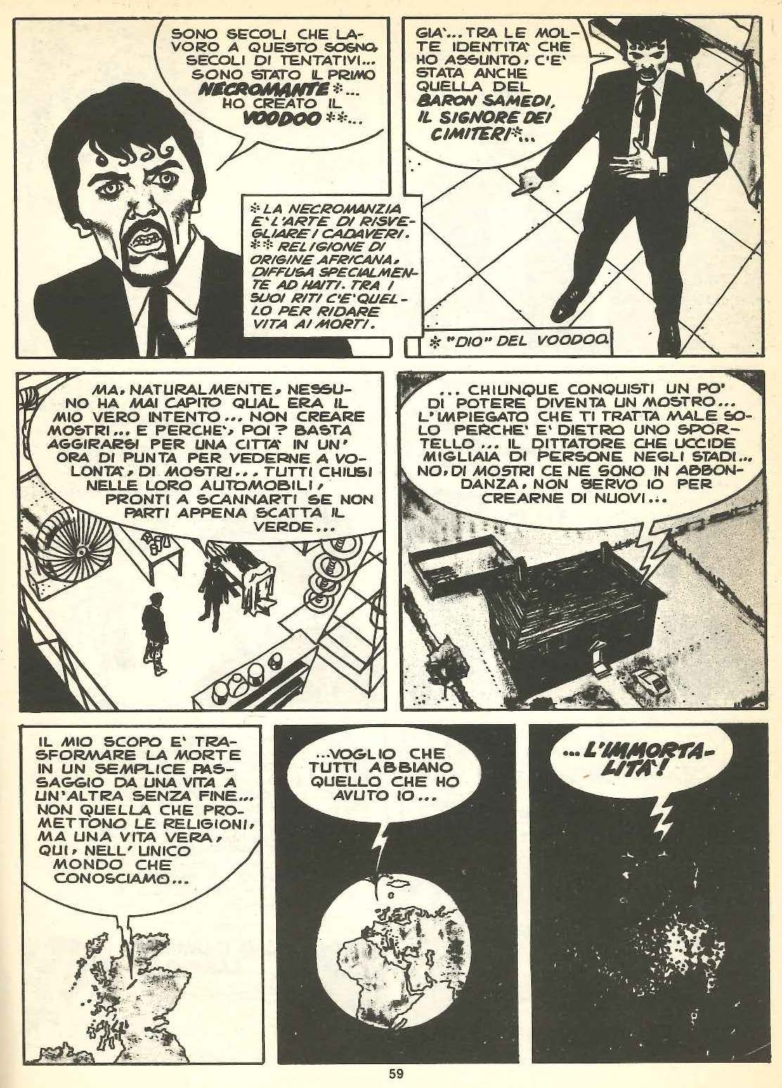 Angelo Stano, Dylan Dog #1, china su carta, 1986