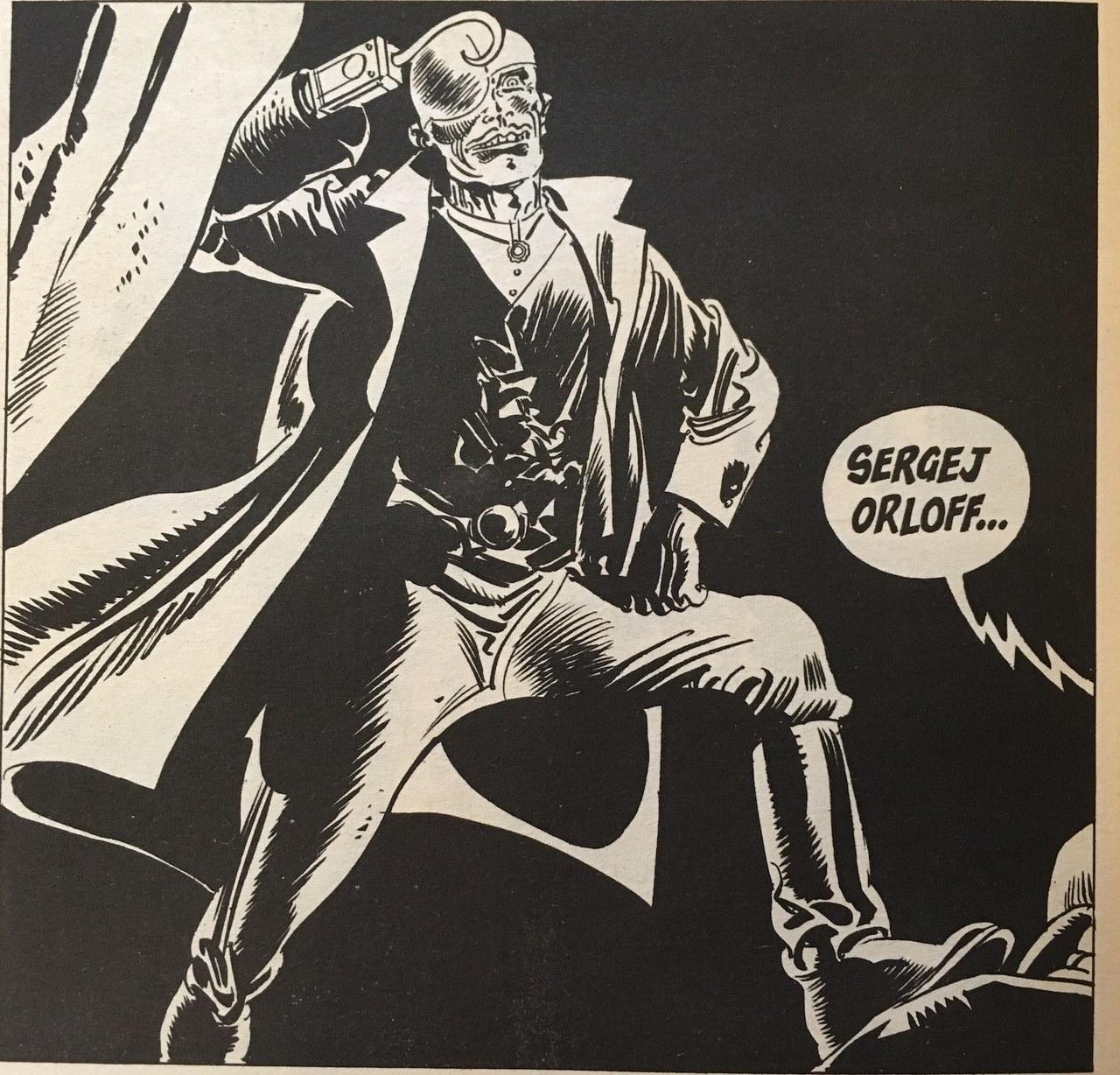 Orloff, stereotipico criminale