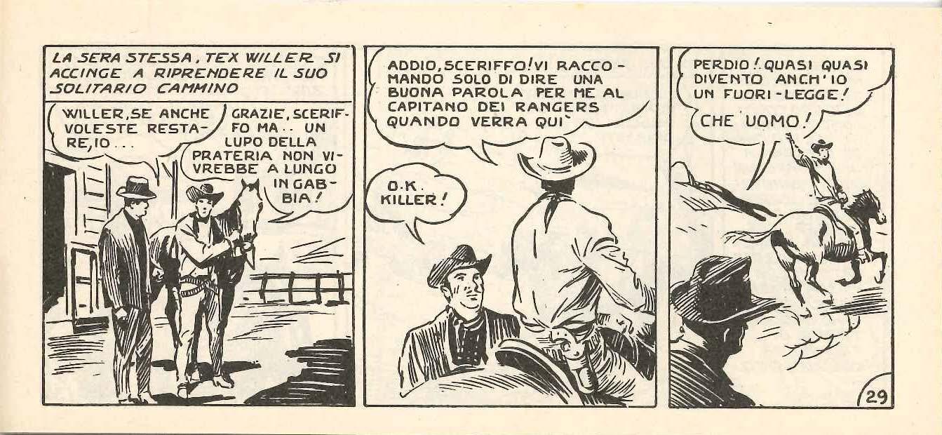 Tex, fuorilegge e uomo del popolo (con un esempio di sopravvivenza del cognome originale