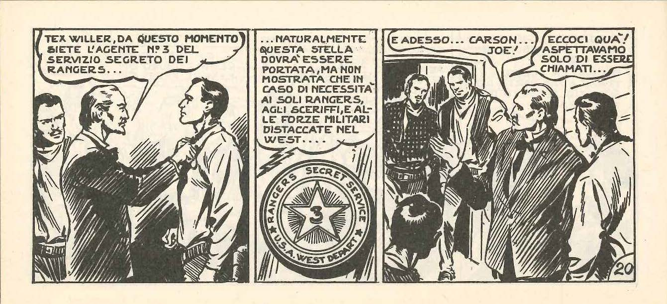 Tex, ranger