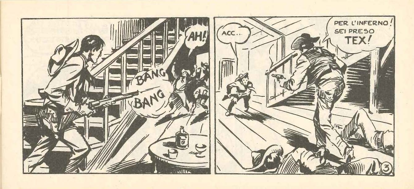 Tex, solo contro molteplici nemici
