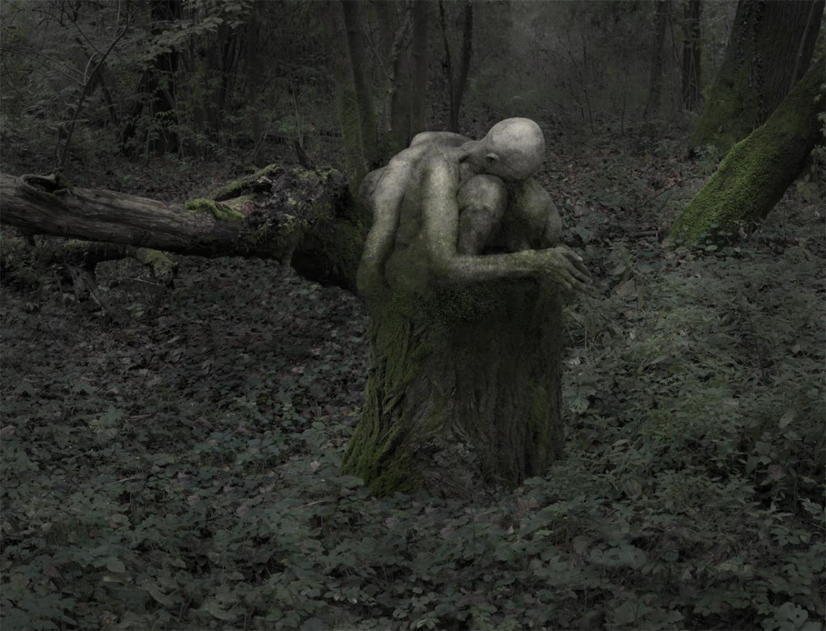 Roberto Kusterle, Preghiere, dalla serie L'abbraccio del bosco
