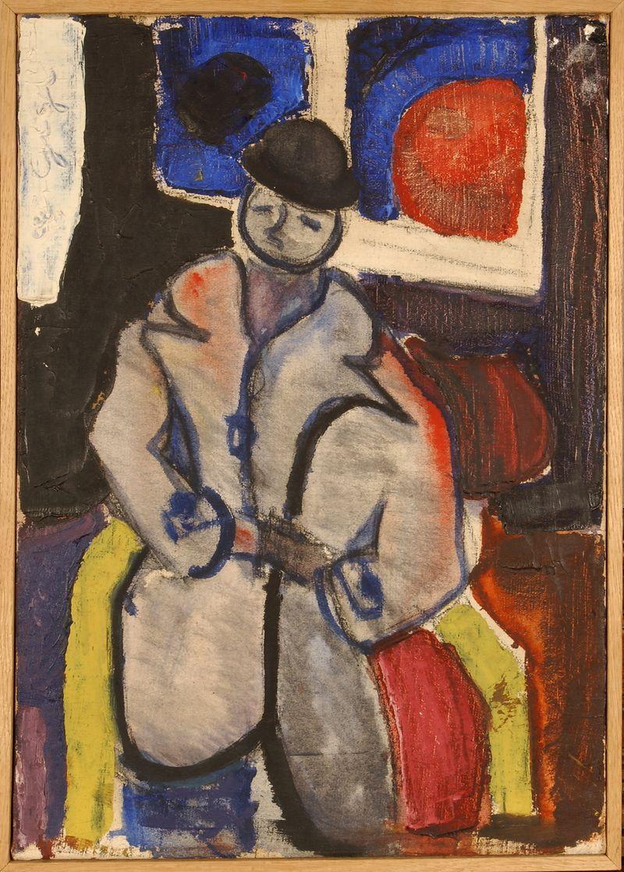 Goffredo Parise, Figura maschile, 1946-1948