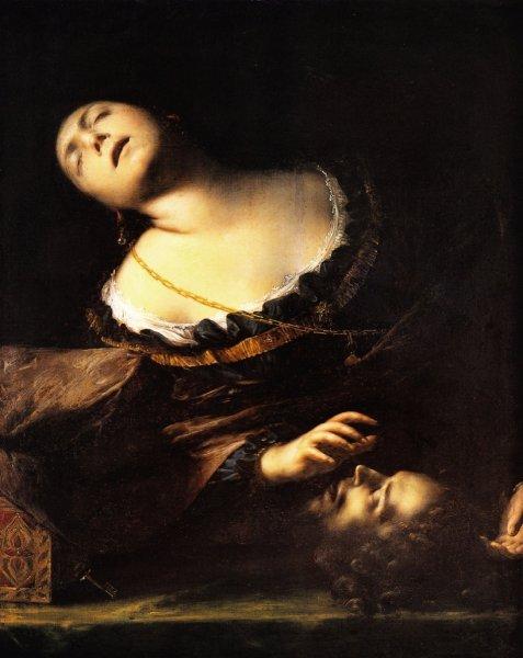 Francesco Cairo, Erodiade con la testa del Battista, olio su tela, 1633-35c.