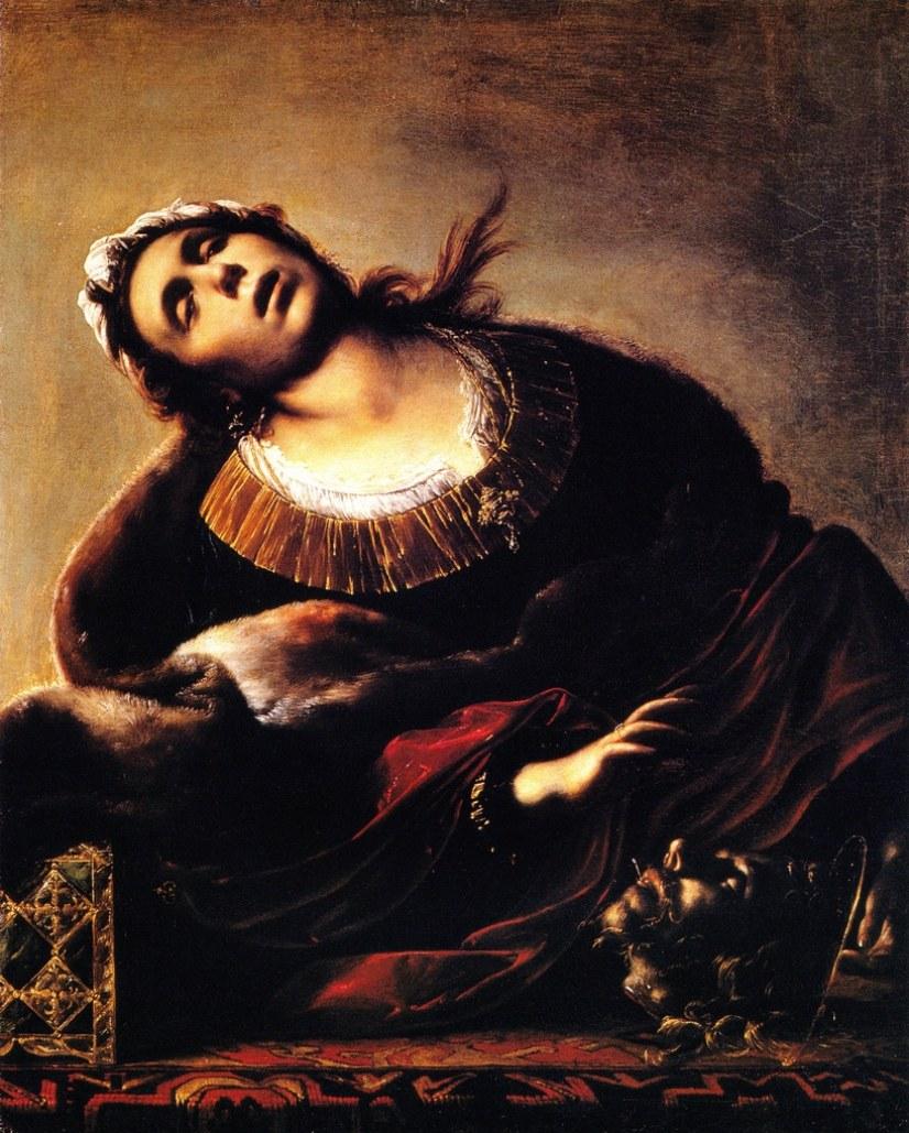 Francesco Cairo, Erodiade con la testa del Battista olio su tela, 1634-1635c.