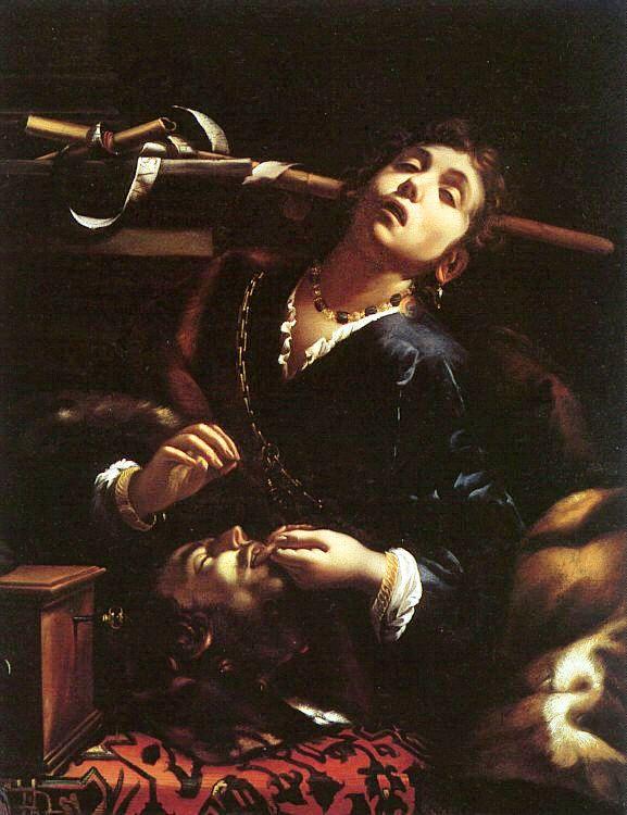 Francesco Cairo, Erodiade con la testa del Battista, olio su tela, 1633-1635c.