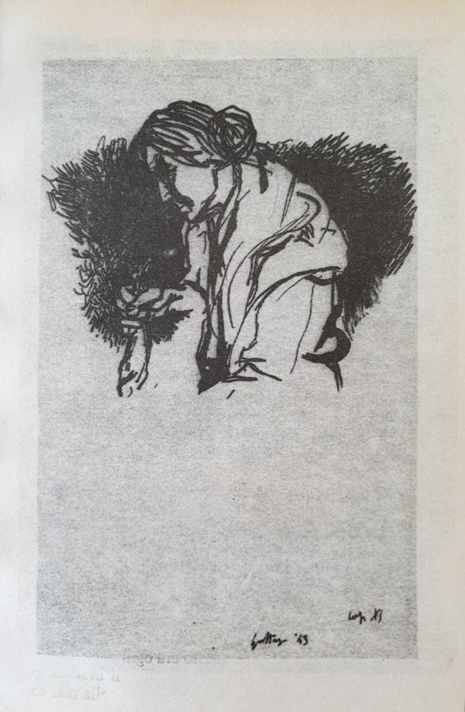 Fig. 2 Disegno di Renato Guttuso per Conversazione in Sicilia