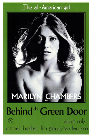 Locandina del film Behind the Green Door, 1972