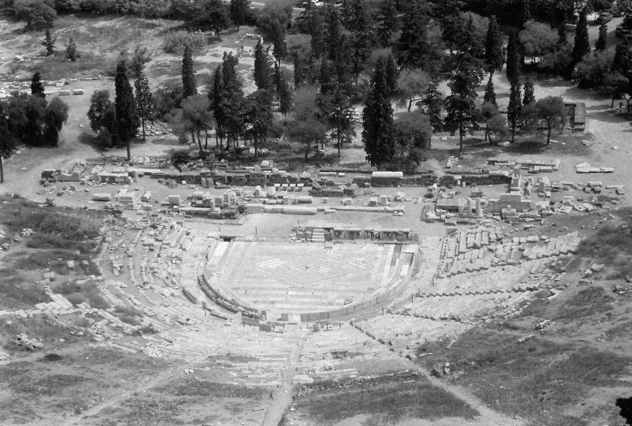 Rovine di un teatro greco