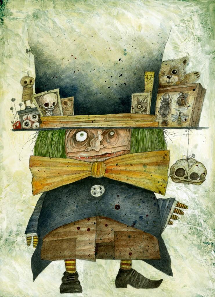 Illustrazione di Stefano Bessoni per Alice sottoterra Logos 2015