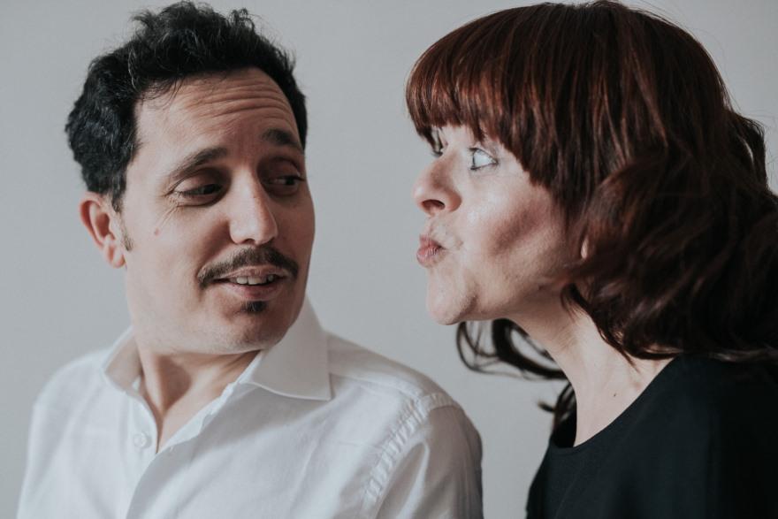 Giuseppe Carullo e Cristiana Minasi