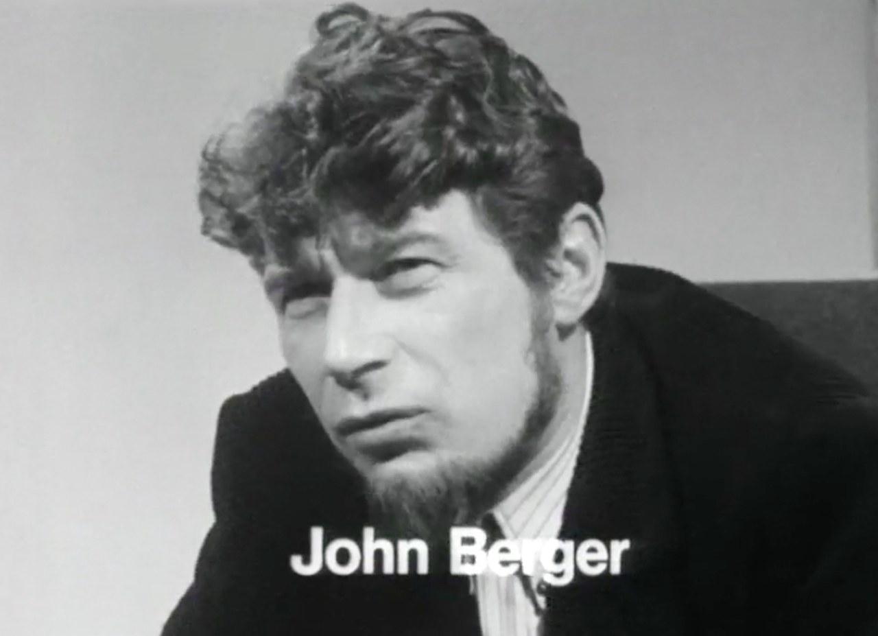 John Berger in The Visual Scene, BBC, 1969