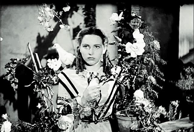 Carla Del Poggio nel film Un garibaldino al convento di Vittorio De Sica, 1942