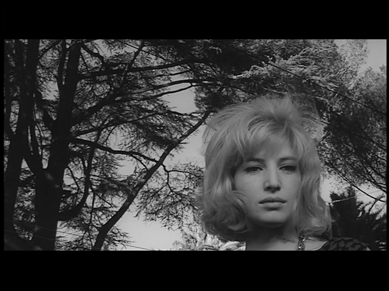Fig. 6 Monica Vitti in L'eclisse di Michelangelo Antonioni