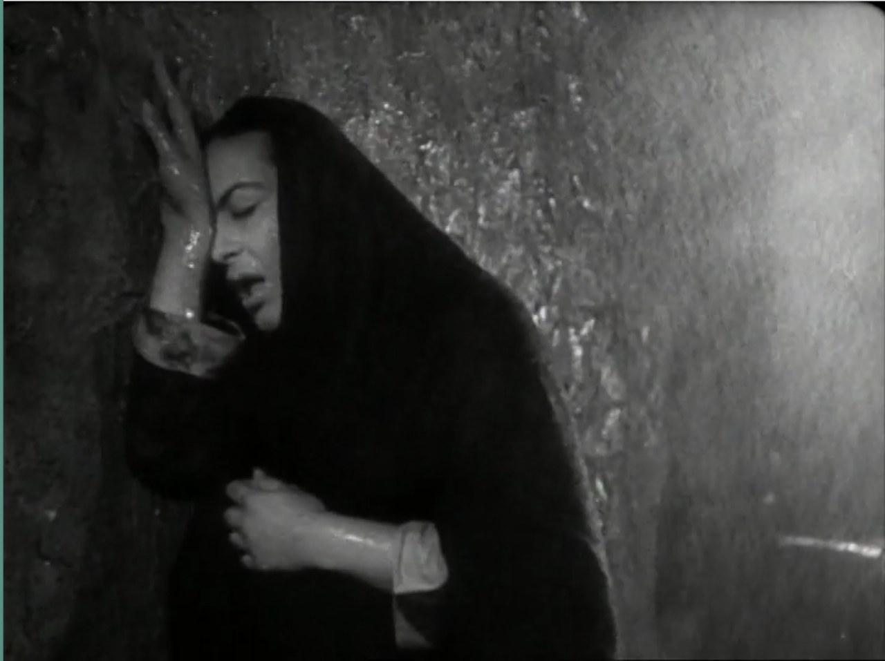 La scena madre in Tormento di R. Matarazzo, 1950
