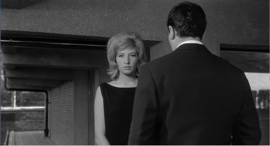 Vittoria congeda definitivamente Riccardo, L'eclisse (1962)