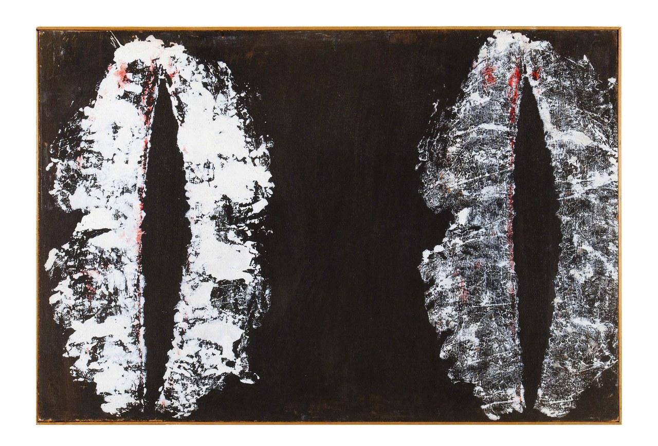Toti Scialoja, Bluthner piccolo N.2, 1960