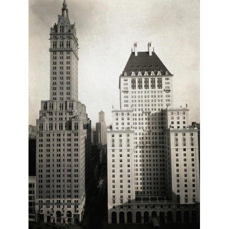 Fig. 2 L' Hotel Sherry Netherland sulla Fifth Avenue a Manhattandove è stata ospitata Anna Magnani nel suo primo viaggio a New York