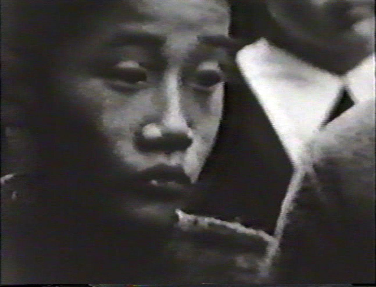 Giosetta Fioroni, fotogramma dal film Goffredo, 1967
