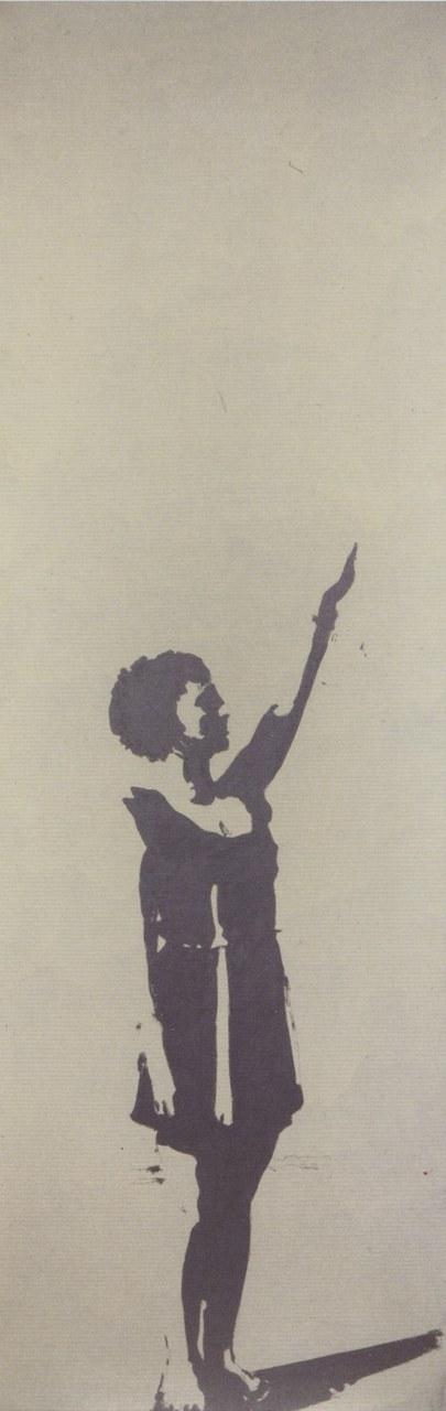 Giosetta Fioroni, Obbedienza, 1969