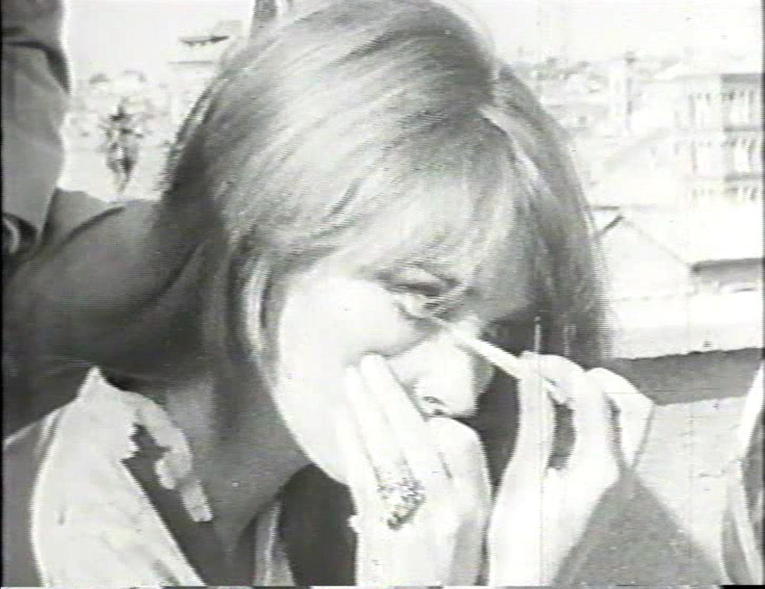 Giosetta Fioroni, fotogramma dal film Coppie, 1967