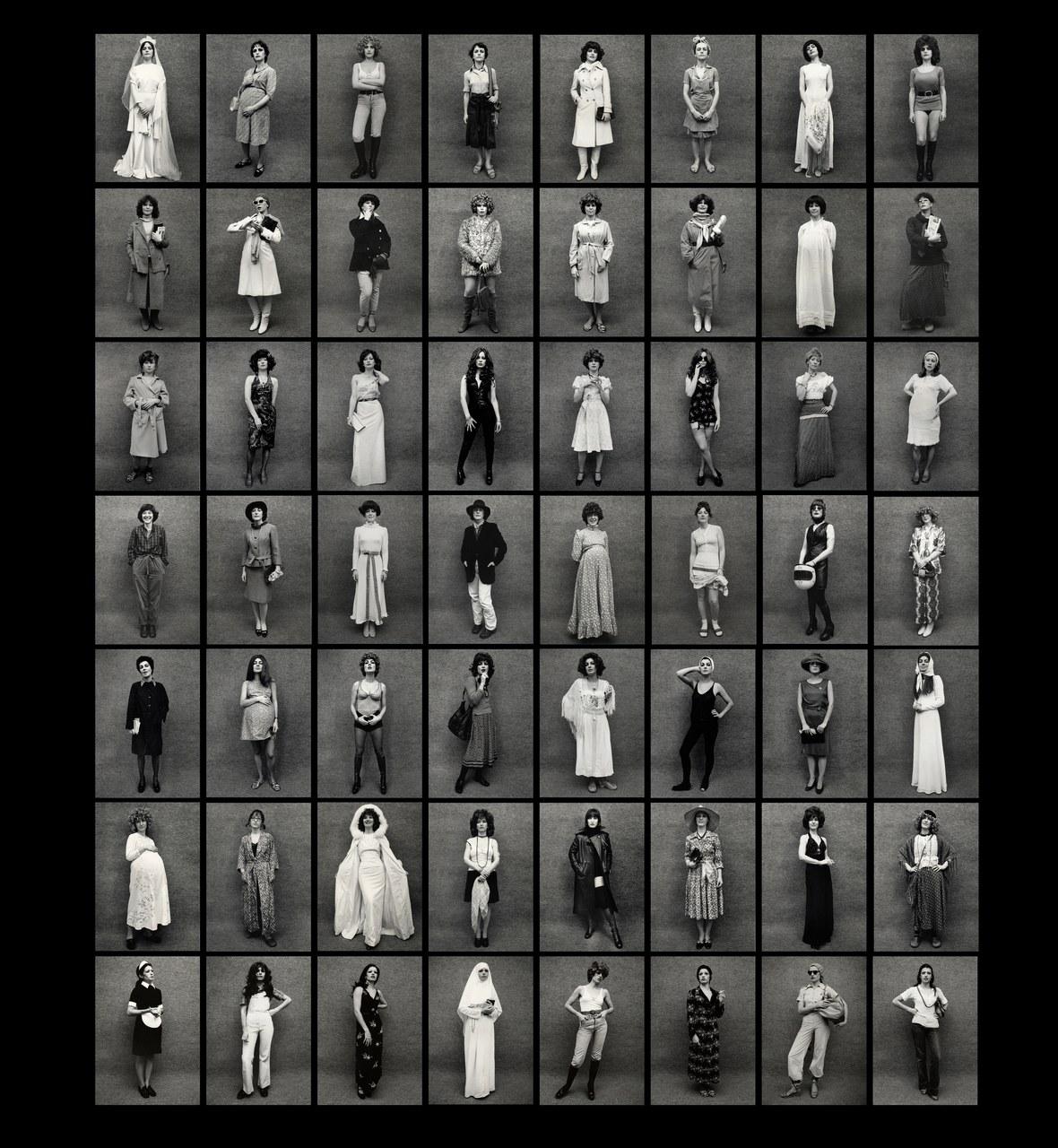 Marcella Campagnano, L'invenzione del femminile: Ruoli, 1974