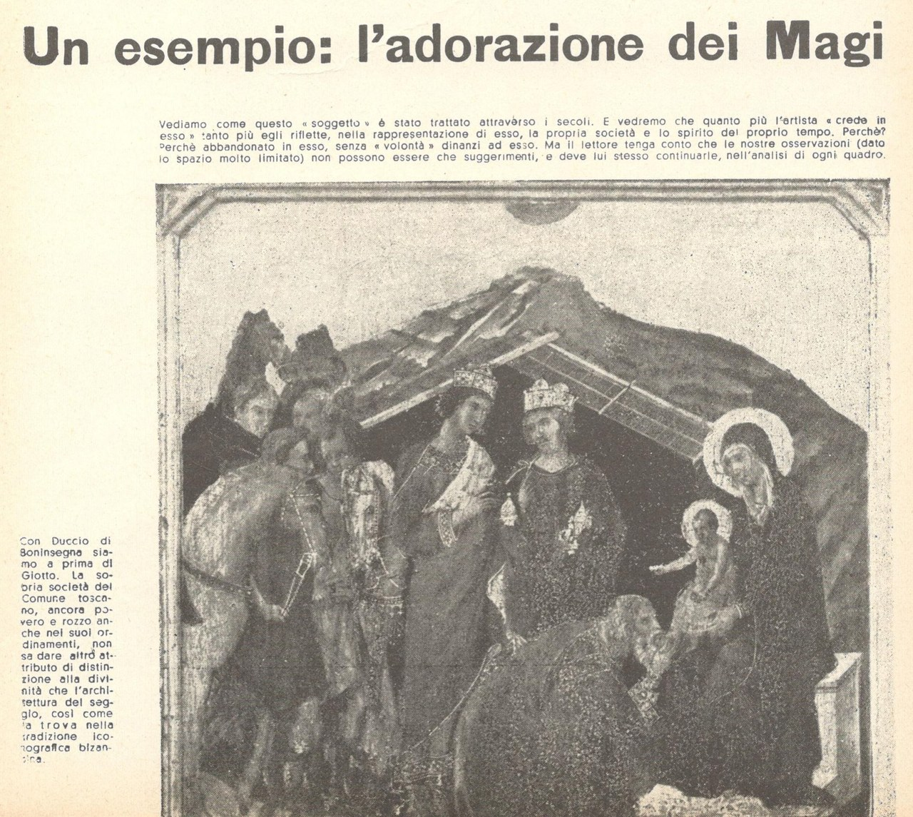 Fig. 3 Il Politecnico, 33-34, settembre-dicembre 1946, p. 70 (particolare, con le didascalie di Vittorini)