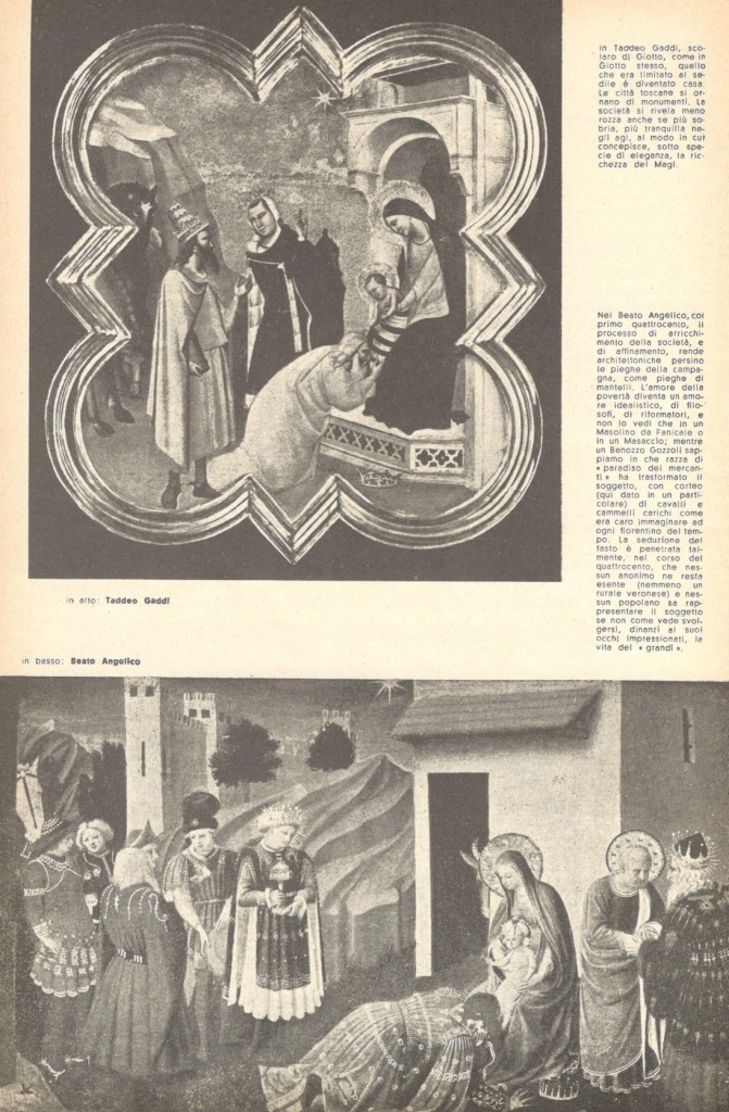 Fig. 4 Il Politecnico, 33-34, settembre-dicembre 1946, p. 71 (con le didascalie di Vittorini)
