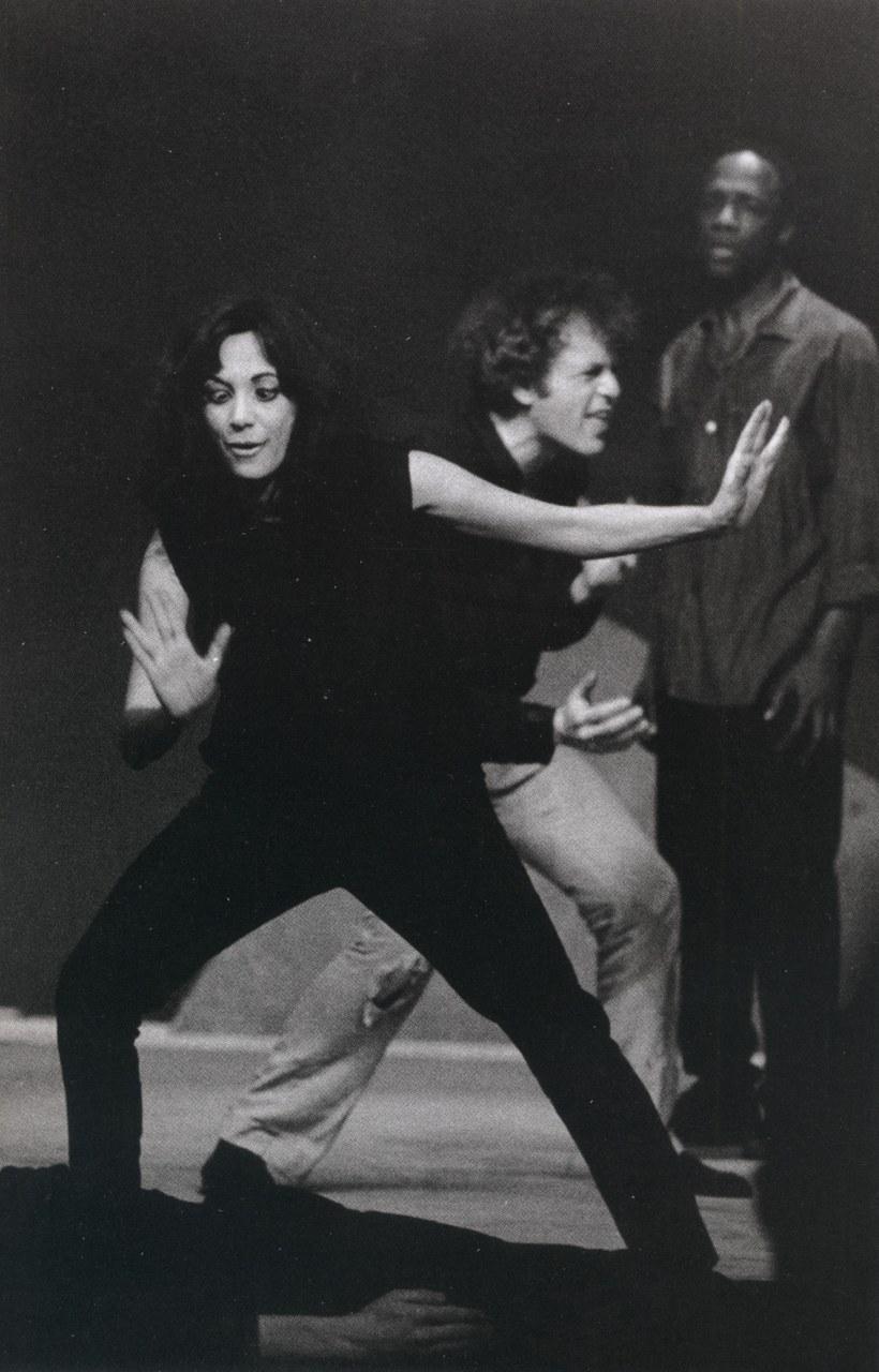 Carla Cerati, Judith Malina nell'Antigone al Teatro Durini di Milano,1967