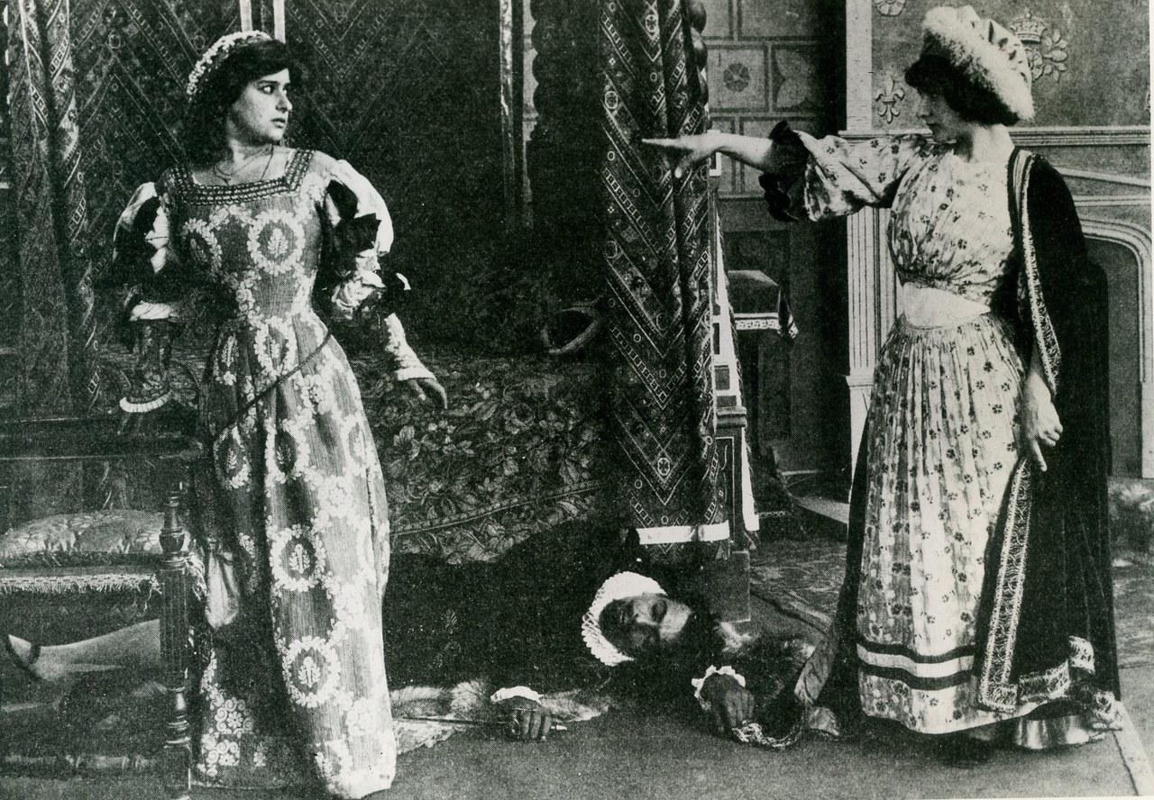 Un'immagine da Fior d'amore e fior di morte - Cines, 1912. Collezione Fondo Turconi, Pavia.