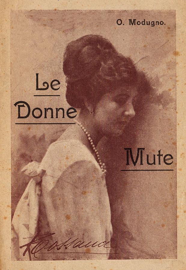 Fig. 1 Pubblicità delle attrici italiane del muto (anni '10 del Novecento)
