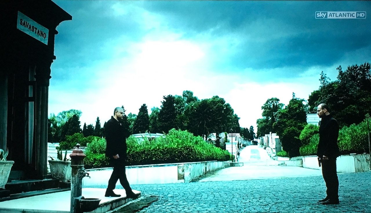 Una scena di Gomorra - La serie, Episodio 2x12, La fine del gioco