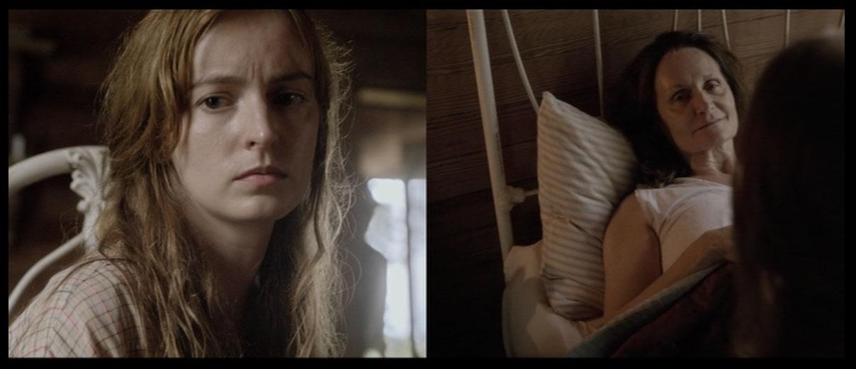 Primo esempio di moltiplicazione del punto di vista tratto dal film As I Lay Dying, 2013