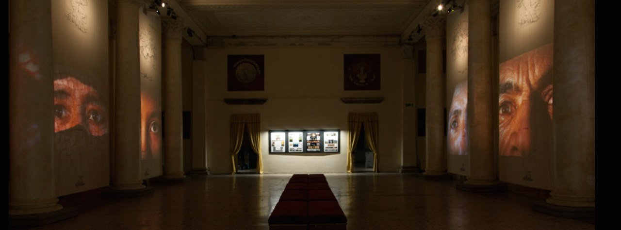 Studio Azzurro, Mediterraneo_La Siria che memoria scricchiolante avremo, versione 2016, Palazzo Reale