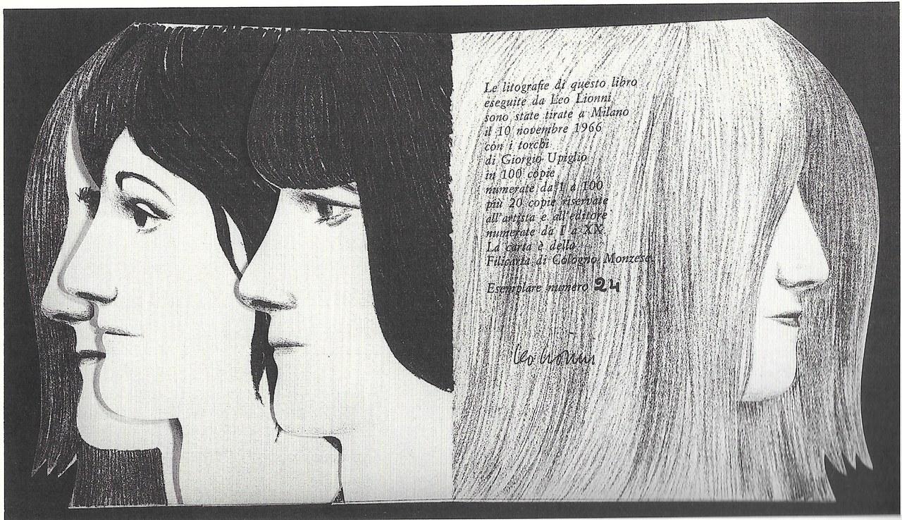 Leo Lionni, litografie per il volume Per grazia ricevuta, 1964