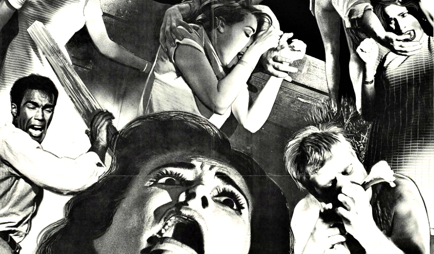 Immagine promozionale di G.A. Romero, Night of the Living Dead (1968)