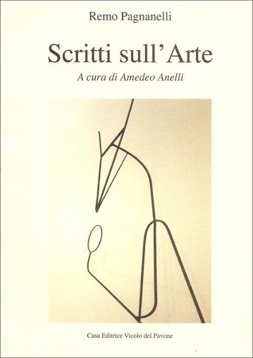 Copertina di R. Pagnanelli, Scritti sull'Arte, a c. di Amedeo Anelli