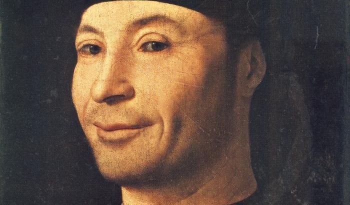 Antonello da Messina, Ritratto d'uomo, 1465-1476 (Museo Mandralisca, Cefalù)