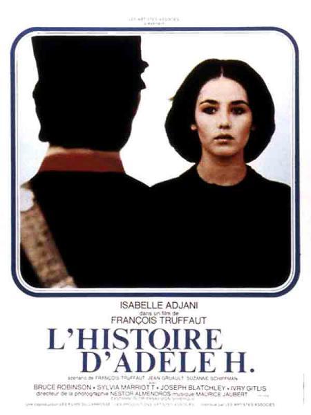 Locandina di F. Truffaut, L'histoire d'Adèle H. (1975)