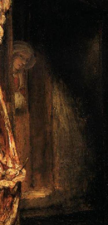 Rembrandt, Bue macellato, dettaglio
