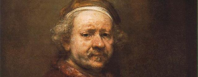 Rembrandt, Autoritratto all'età di 63 anni (1669)