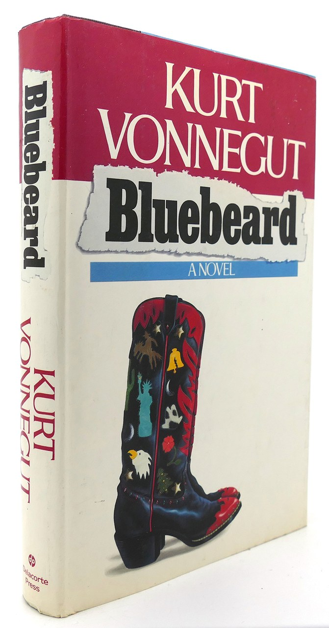Fig. 1 La prima edizione di Bluebeard, Delacorte Press, 1987.
