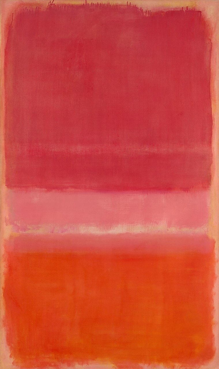 Fig. 2 Marc Rothko, Untitled (Red), 1956. National Gallery of Victoria, Melbourne.